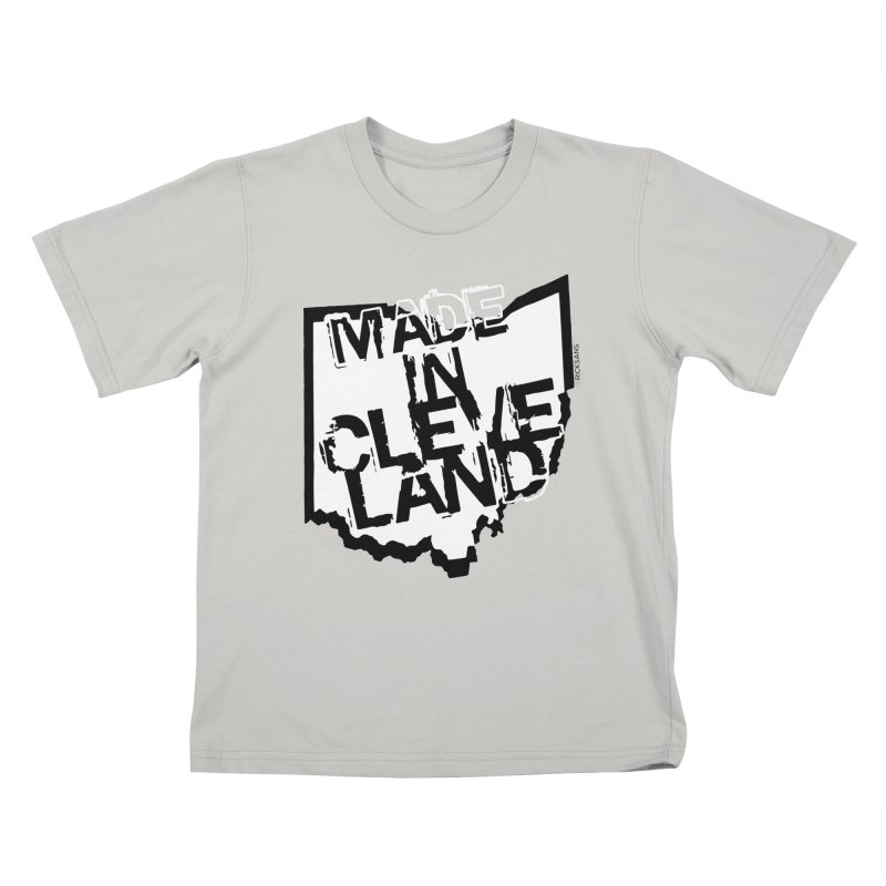Made In Cleveland Kids T-Shirt by Ricksans's Artist Shop
