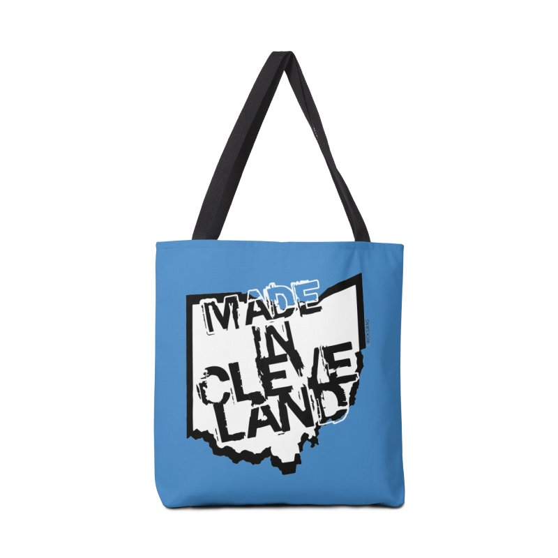 Made In Cleveland Accessories Tote Bag Bag by Rick Sans' Artist Shop