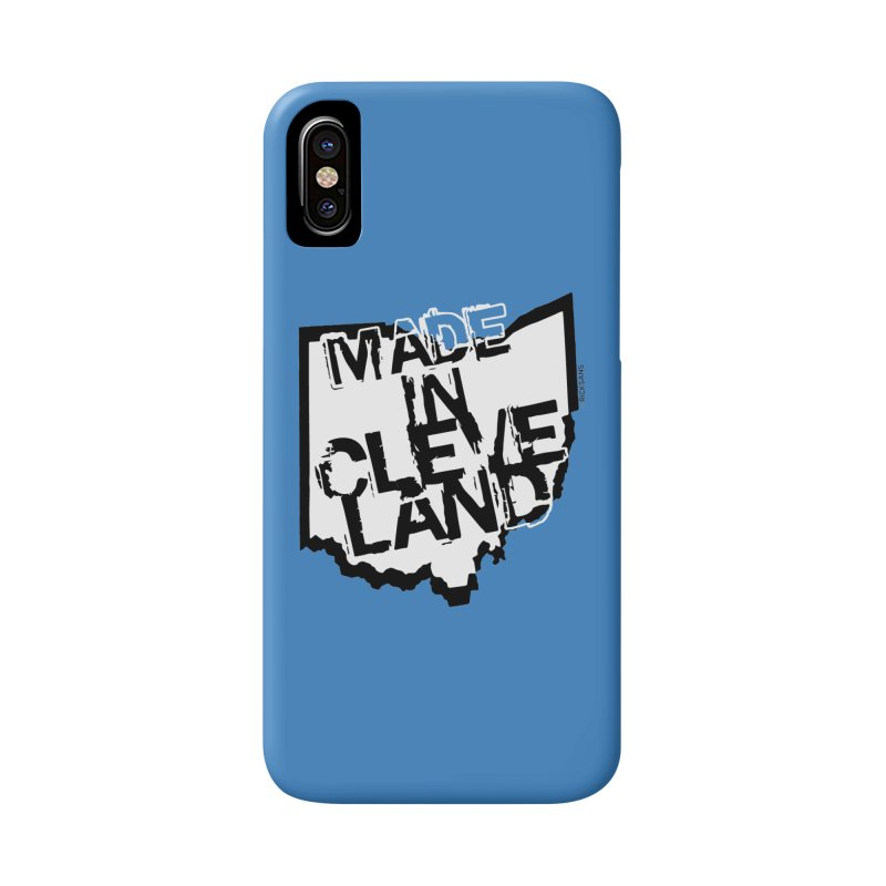 Made In Cleveland Accessories Phone Case by Ricksans's Artist Shop