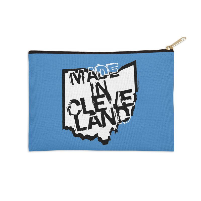 Made In Cleveland Accessories Zip Pouch by Ricksans's Artist Shop