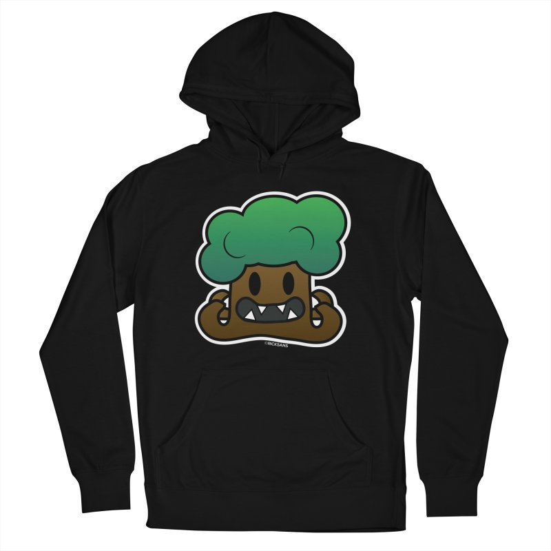 Jubokko Tree Monster by Rick Sans Women's French Terry Pullover Hoody by Rick Sans' Artist Shop