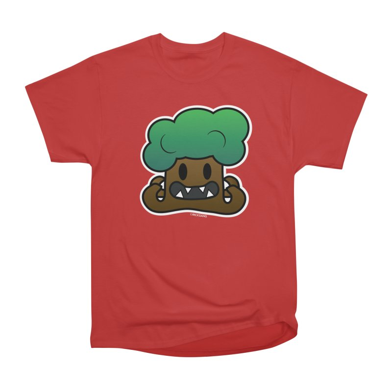 Jubokko Tree Monster by Rick Sans Men's Heavyweight T-Shirt by Rick Sans' Artist Shop