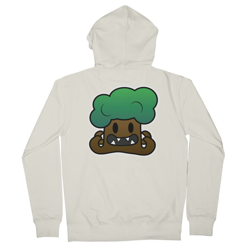 Jubokko Tree Monster by Rick Sans Women's French Terry Zip-Up Hoody by Rick Sans' Artist Shop