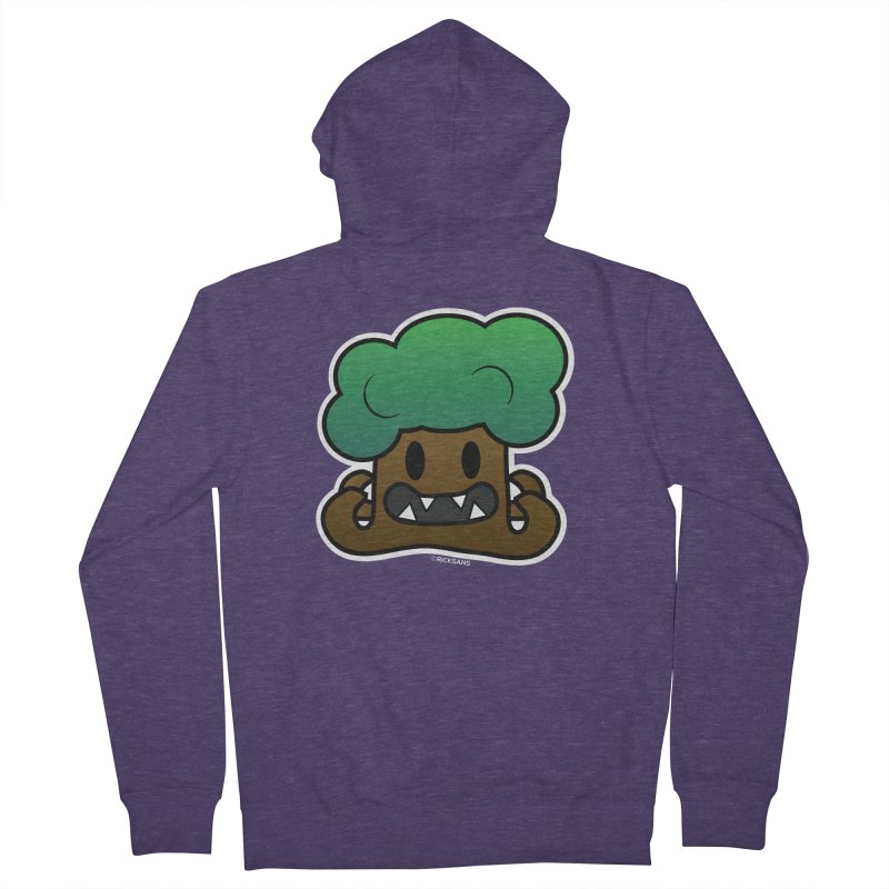 Jubokko Tree Monster by Rick Sans Men's French Terry Zip-Up Hoody by Rick Sans' Artist Shop
