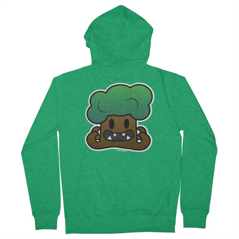 Jubokko Tree Monster by Rick Sans Men's French Terry Zip-Up Hoody by Ricksans's Artist Shop