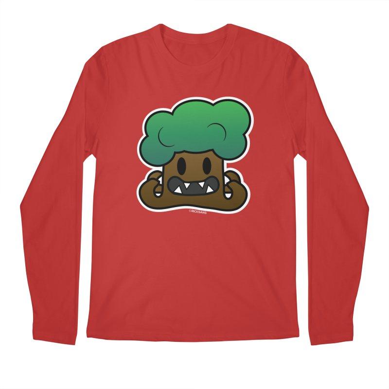 Jubokko Tree Monster by Rick Sans Men's Regular Longsleeve T-Shirt by Rick Sans' Artist Shop