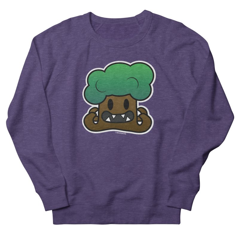 Jubokko Tree Monster by Rick Sans Men's French Terry Sweatshirt by Ricksans's Artist Shop
