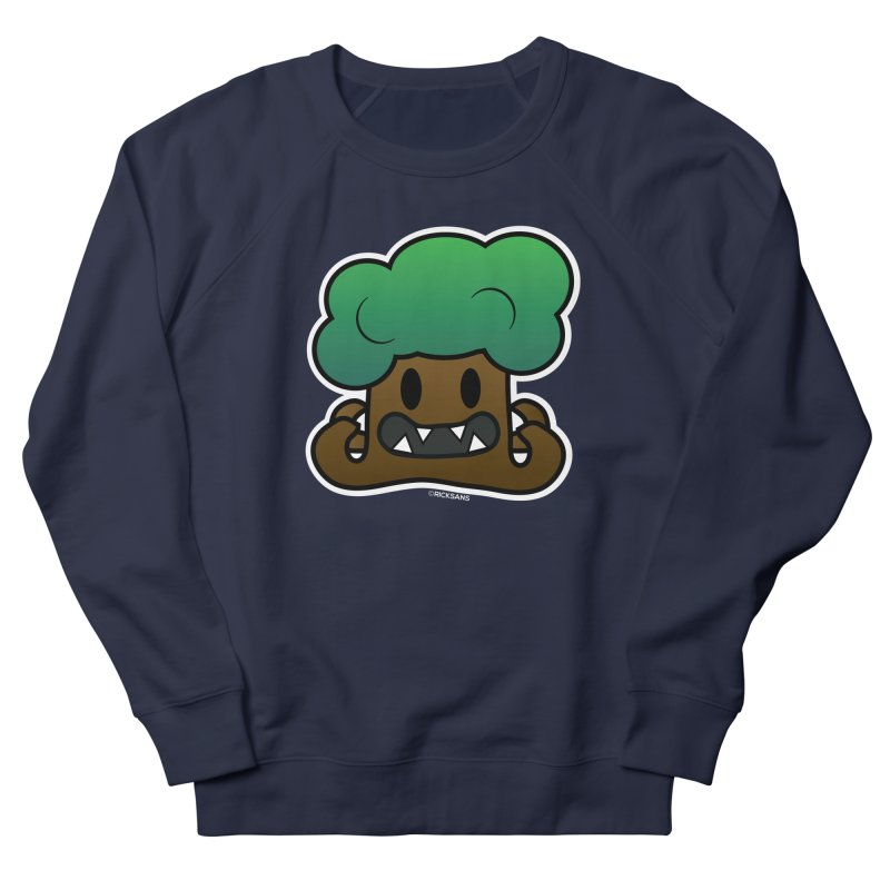 Jubokko Tree Monster by Rick Sans Men's French Terry Sweatshirt by Rick Sans' Artist Shop