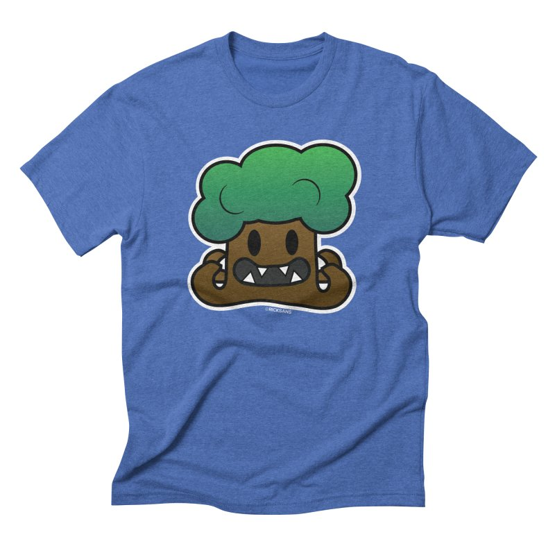 Jubokko Tree Monster by Rick Sans Men's Triblend T-Shirt by Rick Sans' Artist Shop