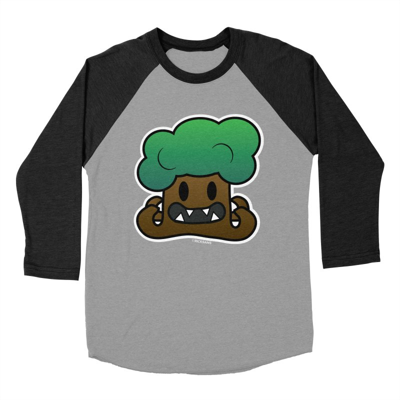 Jubokko Tree Monster by Rick Sans Women's Baseball Triblend T-Shirt by Ricksans's Artist Shop