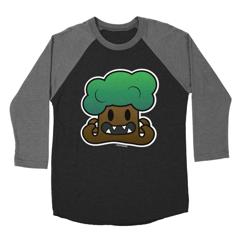 Jubokko Tree Monster by Rick Sans Men's Baseball Triblend T-Shirt by Ricksans's Artist Shop