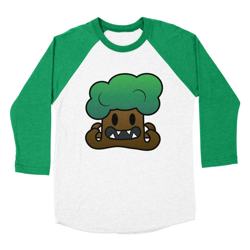 Jubokko Tree Monster by Rick Sans Men's Baseball Triblend T-Shirt by Ricksans's Artist Shop