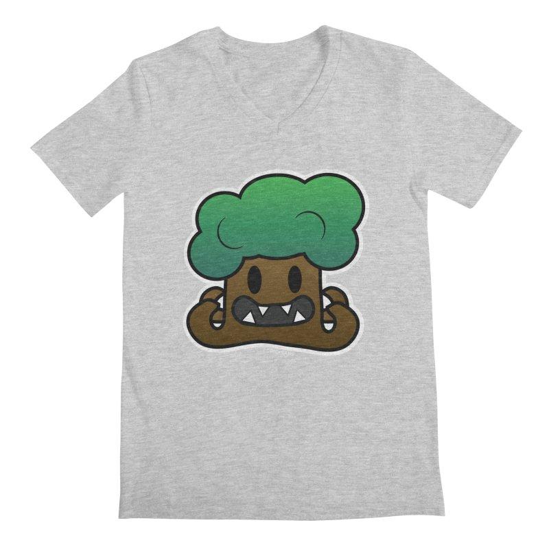 Jubokko Tree Monster by Rick Sans Men's Regular V-Neck by Rick Sans' Artist Shop