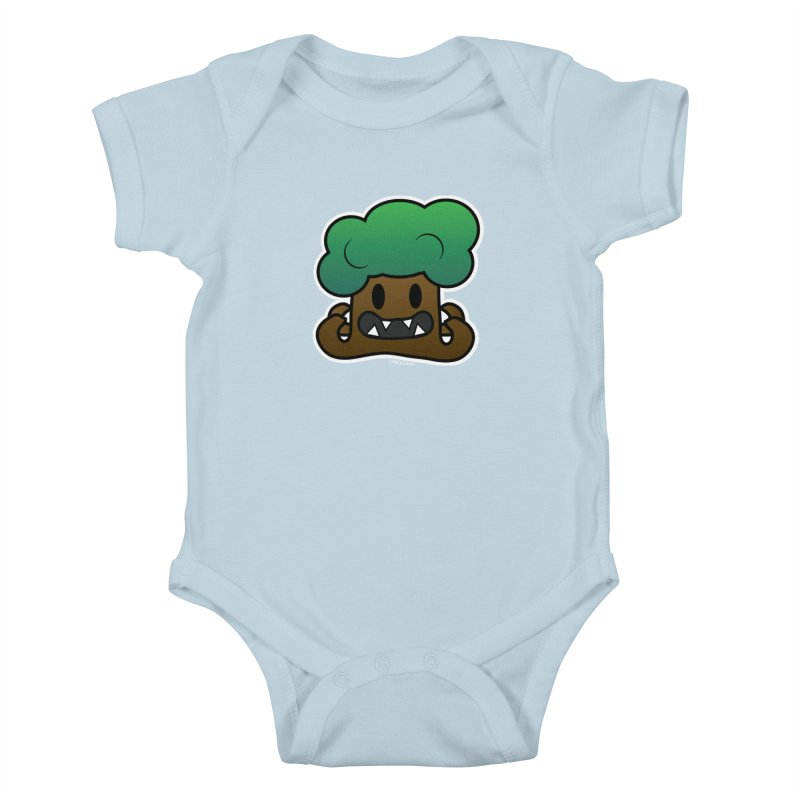 Jubokko Tree Monster by Rick Sans Kids Baby Bodysuit by Ricksans's Artist Shop