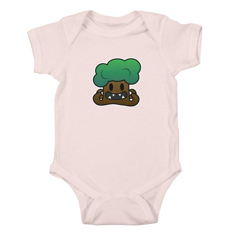 Jubokko Tree Monster by Rick Sans Kids Baby Bodysuit by Ricksans's Artist Shop