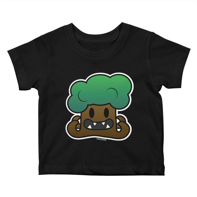 Jubokko Tree Monster by Rick Sans Kids Baby T-Shirt by Rick Sans' Artist Shop