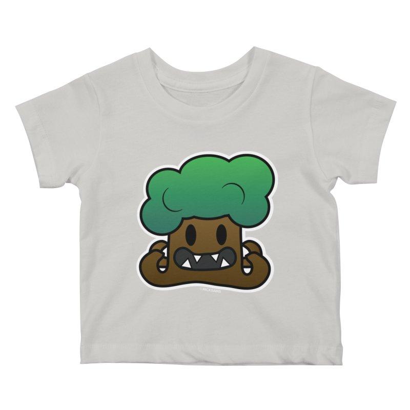 Jubokko Tree Monster by Rick Sans Kids Baby T-Shirt by Ricksans's Artist Shop