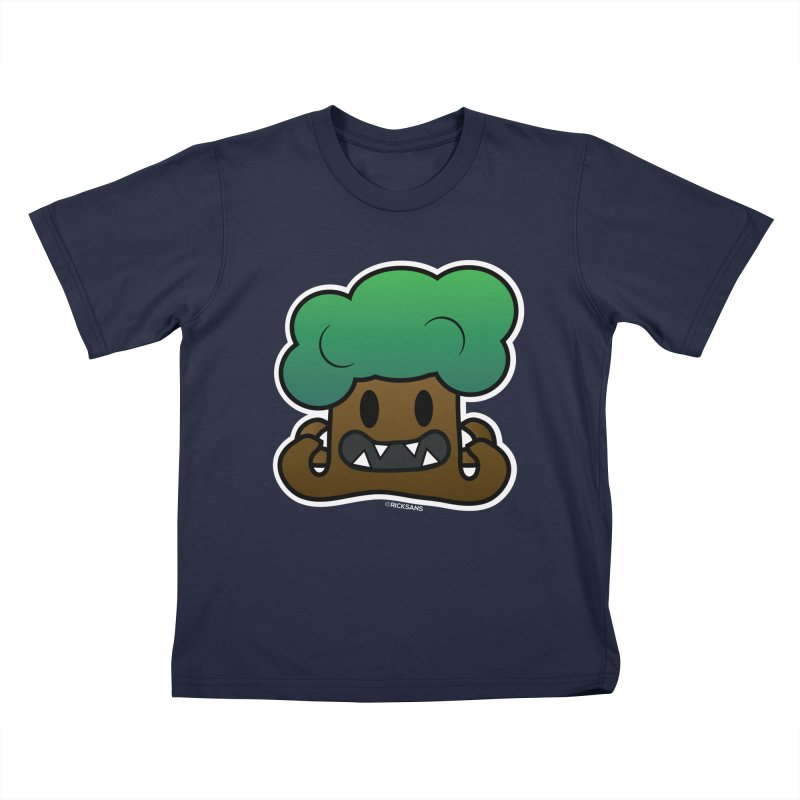 Jubokko Tree Monster by Rick Sans Kids T-Shirt by Ricksans's Artist Shop
