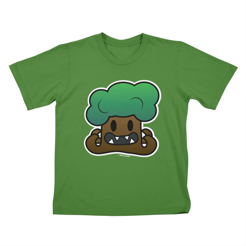 Jubokko Tree Monster by Rick Sans Kids T-Shirt by Ricksans's Artist Shop