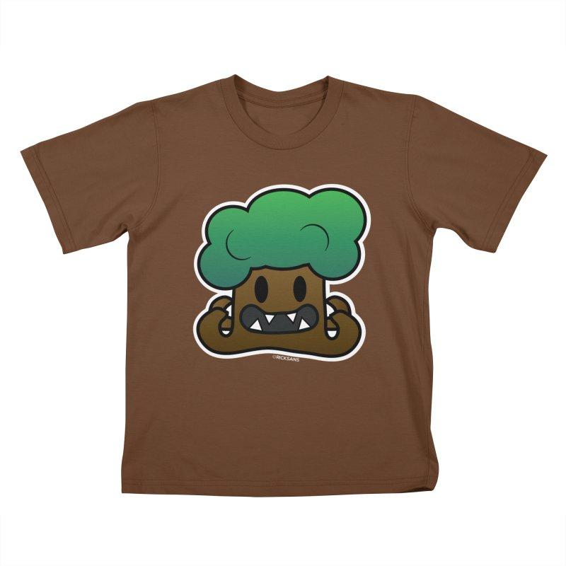 Jubokko Tree Monster by Rick Sans Kids T-Shirt by Rick Sans' Artist Shop