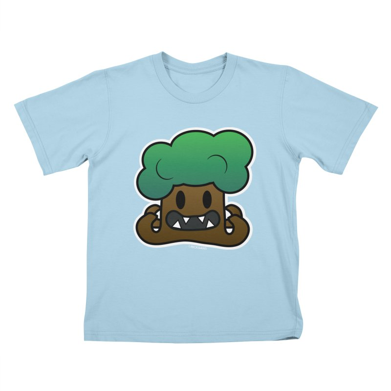 Jubokko Tree Monster by Rick Sans Kids T-Shirt by Rick Sans' Artist Shop