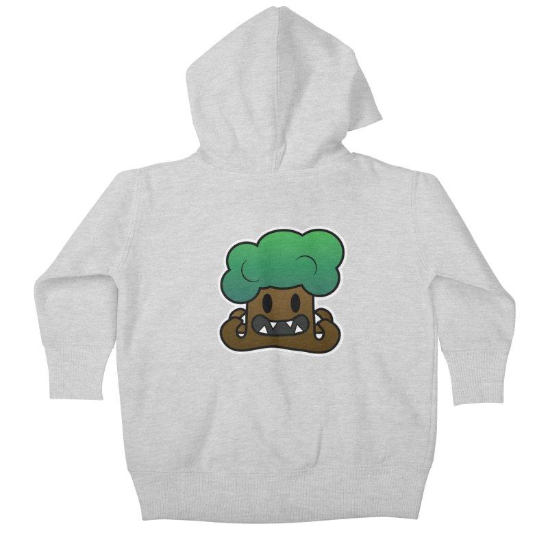 Jubokko Tree Monster by Rick Sans Kids Baby Zip-Up Hoody by Rick Sans' Artist Shop