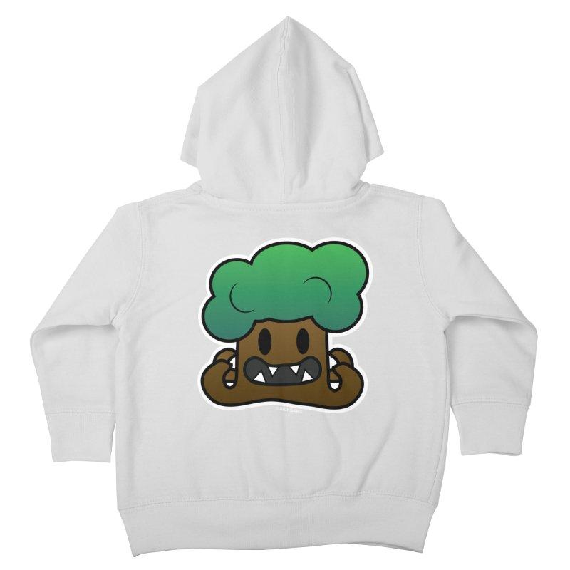 Jubokko Tree Monster by Rick Sans Kids Toddler Zip-Up Hoody by Ricksans's Artist Shop