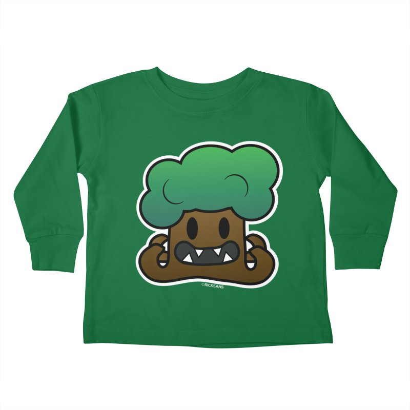 Jubokko Tree Monster by Rick Sans Kids Toddler Longsleeve T-Shirt by Rick Sans' Artist Shop