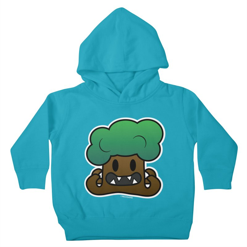 Jubokko Tree Monster by Rick Sans Kids Toddler Pullover Hoody by Rick Sans' Artist Shop