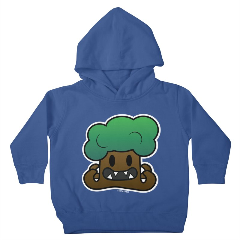 Jubokko Tree Monster by Rick Sans Kids Toddler Pullover Hoody by Rick Sans' Artist Shop