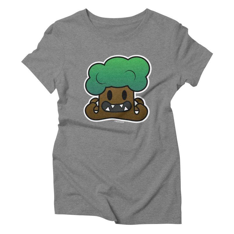Jubokko Tree Monster by Rick Sans Women's Triblend T-Shirt by Ricksans's Artist Shop