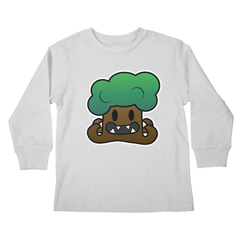 Jubokko Tree Monster by Rick Sans Kids Longsleeve T-Shirt by Ricksans's Artist Shop