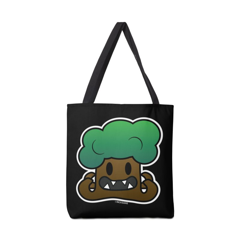 Jubokko Tree Monster by Rick Sans Accessories Tote Bag Bag by Rick Sans' Artist Shop