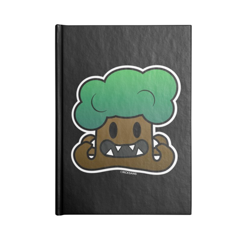 Jubokko Tree Monster by Rick Sans Accessories Blank Journal Notebook by Rick Sans' Artist Shop