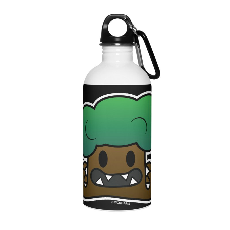 Jubokko Tree Monster by Rick Sans Accessories Water Bottle by Rick Sans' Artist Shop