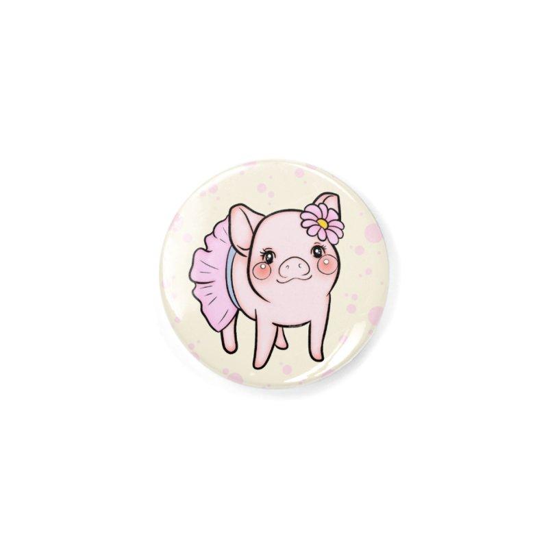Dressed Up Piglet Accessories Button by RingoHanasaki's Artist Shop