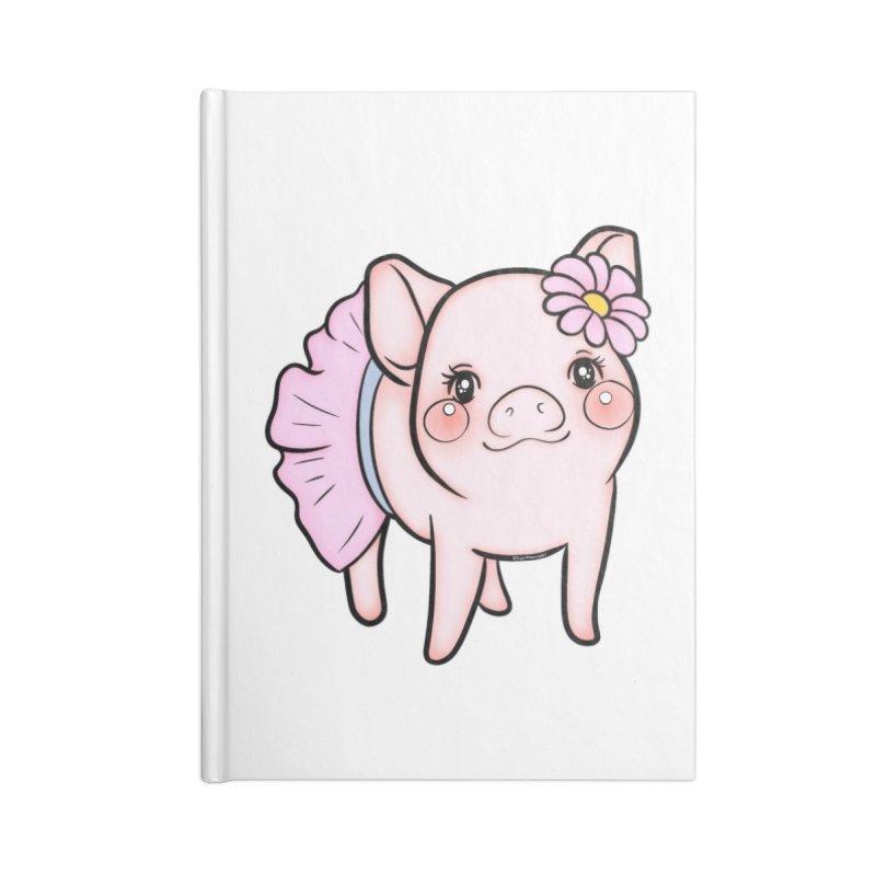 Dressed Up Piglet Accessories Notebook by RingoHanasaki's Artist Shop