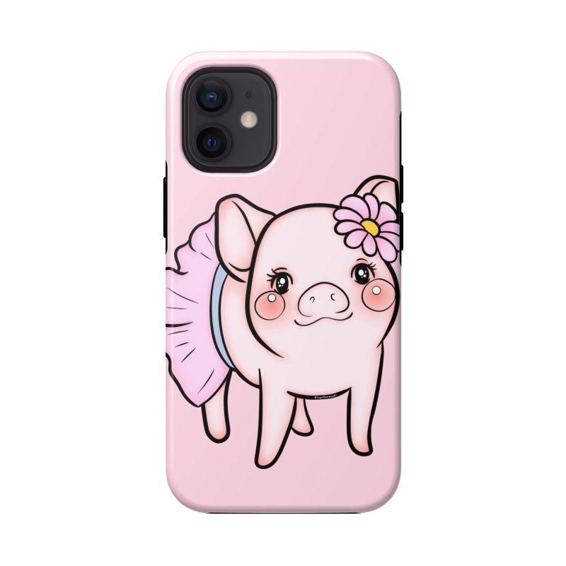 Dressed Up Piglet Accessories Phone Case by RingoHanasaki's Artist Shop
