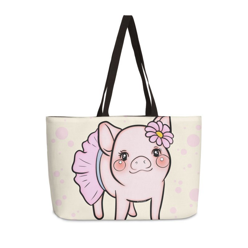 Dressed Up Piglet Accessories Bag by RingoHanasaki's Artist Shop