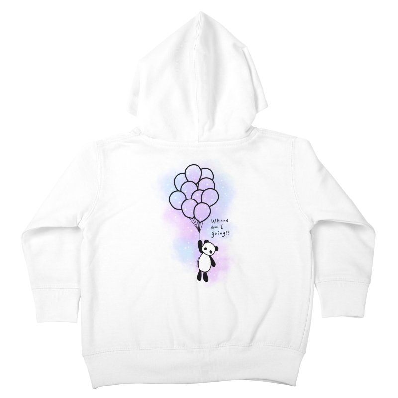 Panda Fly with Balloons Kids Toddler Zip-Up Hoody by RingoHanasaki's Artist Shop