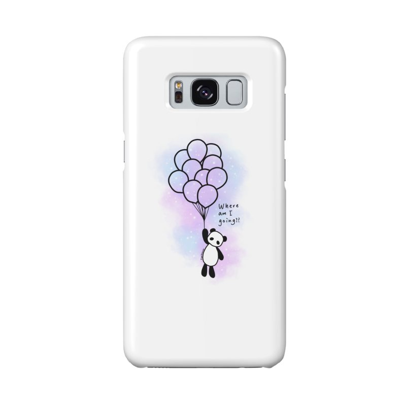 Panda Fly with Balloons Accessories Phone Case by RingoHanasaki's Artist Shop
