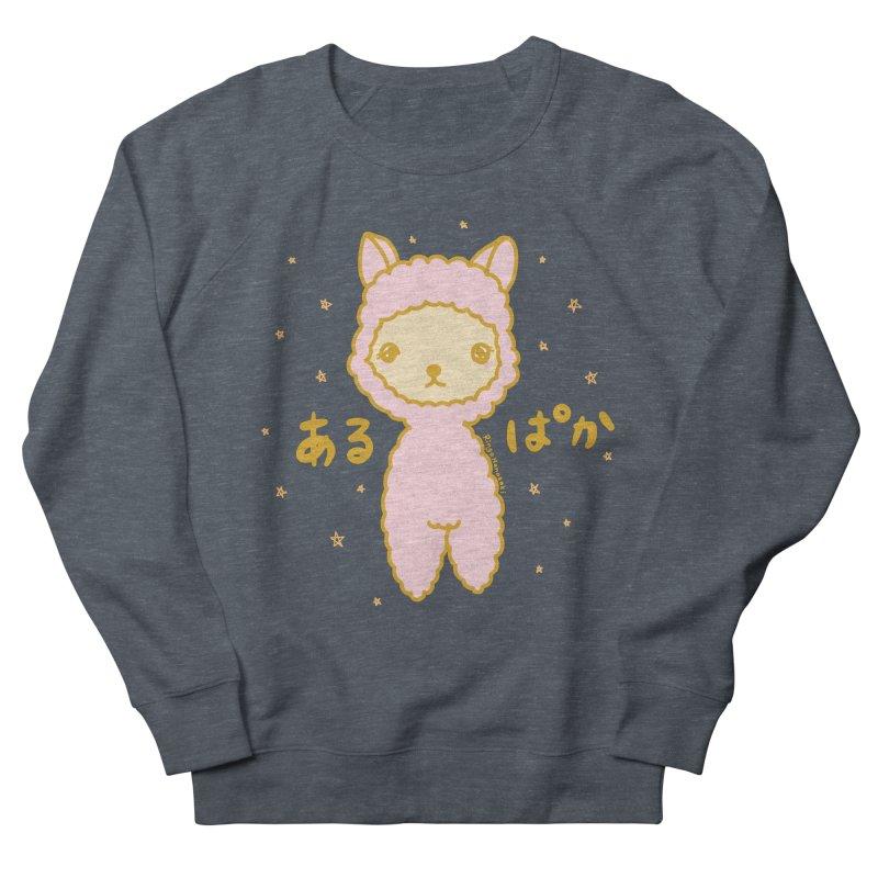 Kawaii Alpaca Men's French Terry Sweatshirt by RingoHanasaki's Artist Shop
