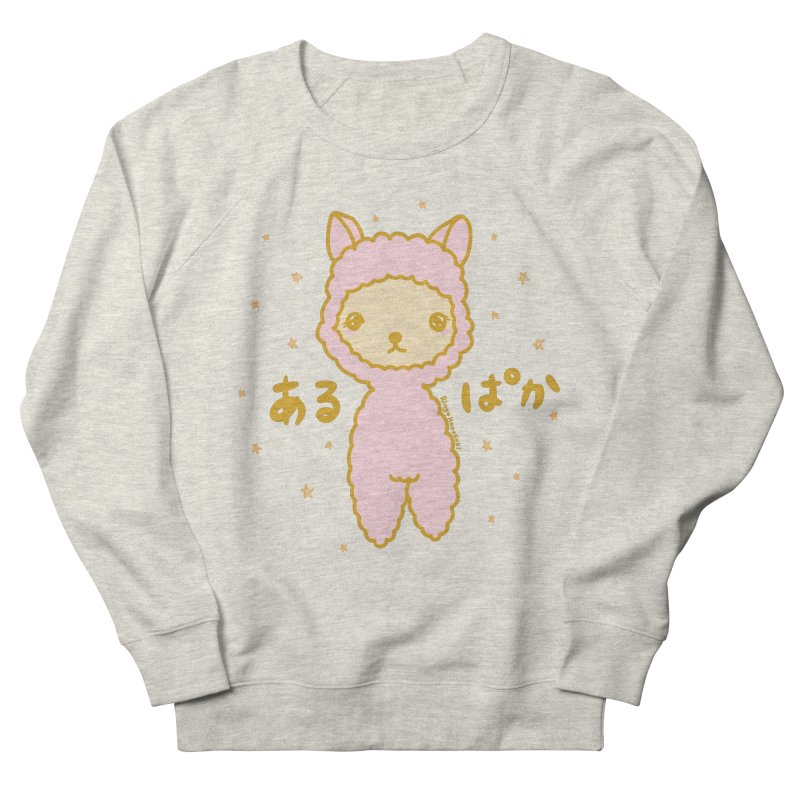 Kawaii Alpaca Men's Sweatshirt by RingoHanasaki's Artist Shop