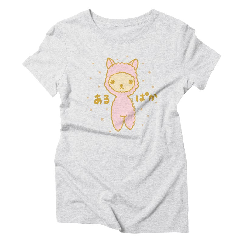 Kawaii Alpaca Women's T-Shirt by RingoHanasaki's Artist Shop