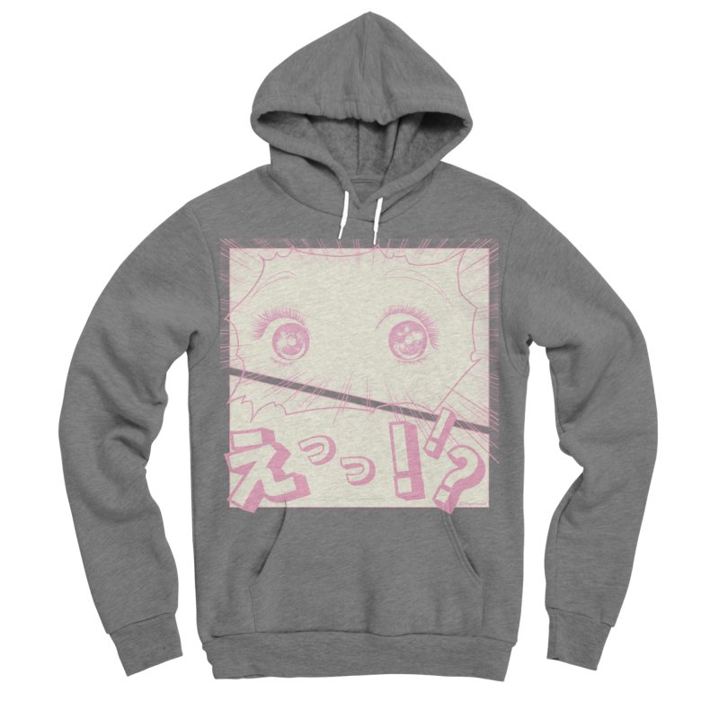 Curious Manga Girl Women's Sponge Fleece Pullover Hoody by RingoHanasaki's Artist Shop