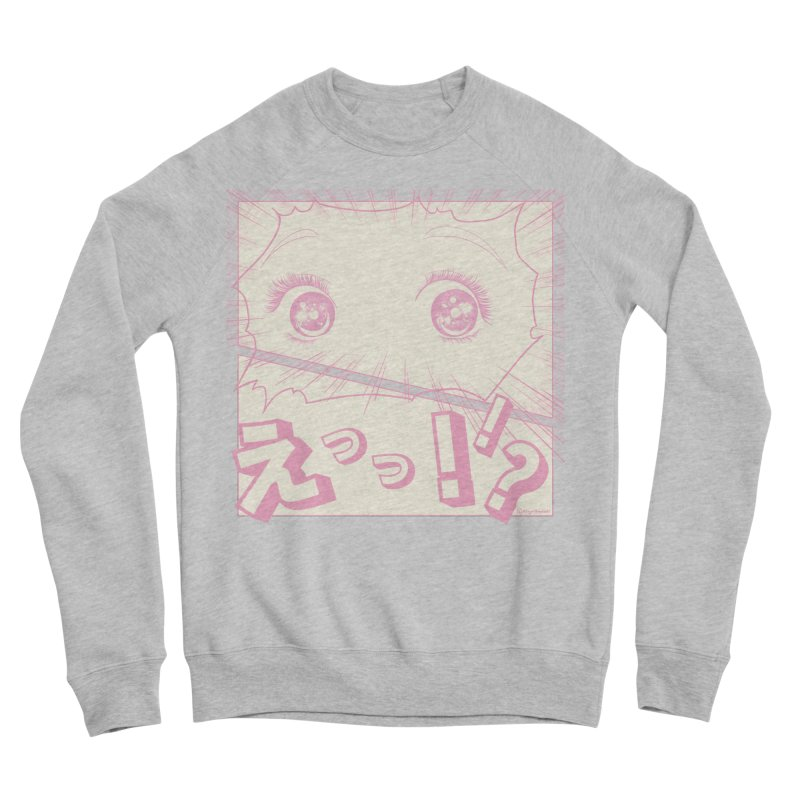 Curious Manga Girl Women's Sponge Fleece Sweatshirt by RingoHanasaki's Artist Shop