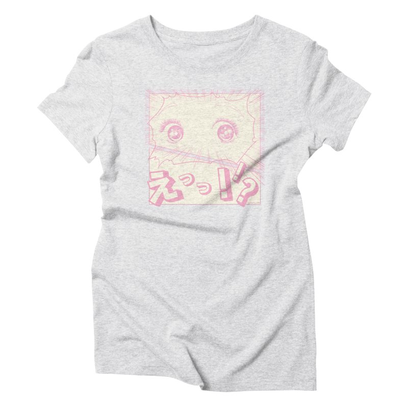 Curious Manga Girl Women's T-Shirt by RingoHanasaki's Artist Shop