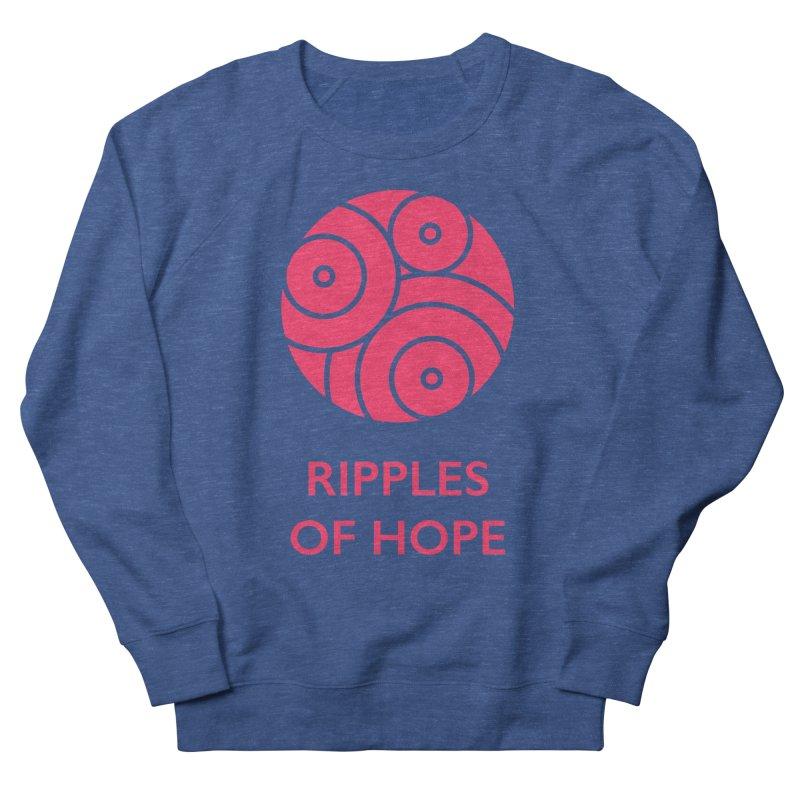 Ripples of Hope - Vertical - Red Men's Sweatshirt by Ripples of Hope Swag Shop