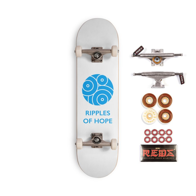 Ripples of Hope - Vertical - Blue Accessories Skateboard by Ripples of Hope Swag Shop