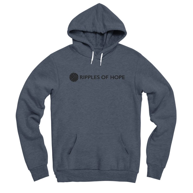 Horizontal - Ripples of Hope Black Women's Pullover Hoody by Ripples of Hope Swag Shop